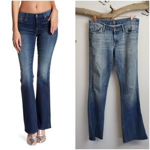 7 for all mankind A pocket embroidered jeans